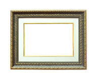 Stock Photo: Picture frame with a decorative patte Royalty Free Stock Image