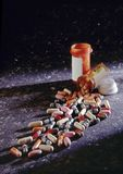 Stock Photo of Pill Bottles and Pills Stock Photo