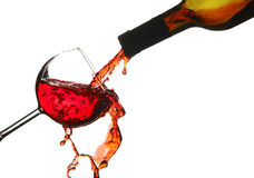 Stock Photo:Red wine splash Stock Photos