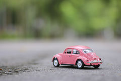 Stock Photo:Retro toy car detail Royalty Free Stock Images