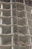 Stock Photo:scaffolding on a building wall. building getting a Stock Photos