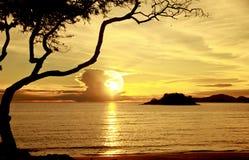 Stock Photo:sea beach silhouette thailand Stock Photography