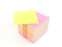 Stock Photo: sheet of colored paper Royalty Free Stock Photo
