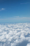Stock Photo - Sky and Cloud view on the plane Royalty Free Stock Photos