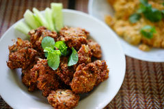 Stock Photo - spicy minced pork Royalty Free Stock Images