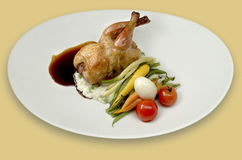 Stock Photo of Squab Dinner Royalty Free Stock Photo