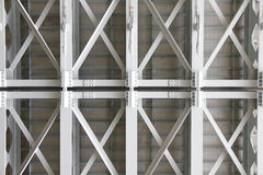 Stock Photo: structural Under Side of A Concrete Bridge, Suppor Stock Photography