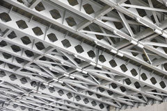 Stock Photo: structural Under Side of A Concrete Bridge, Suppor Stock Images