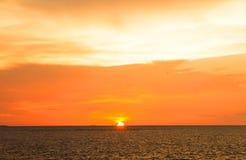 Stock Photo - sunset sky background Royalty Free Stock Photos