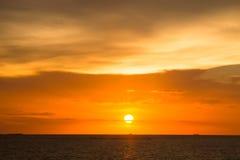 Stock Photo - sunset sky background Royalty Free Stock Photo