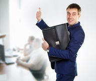 Stock photo. Thumbs up Stock Photography