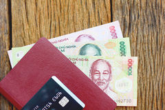 Stock Photo - Vietnamese currency banknotes. royalty free stock images