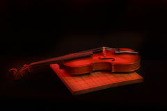 Stock Photo:Violin isolated on black Royalty Free Stock Images