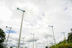 Stock Photo - Wind turbines Royalty Free Stock Image