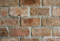 Stock Photography of Brown Bricked Wall Stock Photos