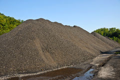 Stock Pile of Coal Stock Photo