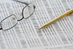 Stock quotes Stock Images
