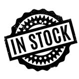 In Stock rubber stamp Royalty Free Stock Photo