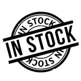 In Stock rubber stamp Royalty Free Stock Images