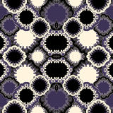 Stock  seamless doodle floral pattern. orient. boho Royalty Free Stock Images