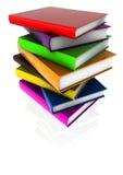 Stock of shiny books 02 Stock Photo