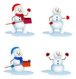 Stock of snowman Royalty Free Stock Photo
