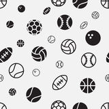 Stock  sport ball seamless pattern texture background Royalty Free Stock Photography