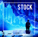 Stock Stock Market Trading Increase Investment Concept Royalty Free Stock Photography