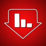 Stock symbol Stock Image
