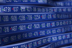 Stock Ticker Royalty Free Stock Images