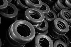 Stock tires piles Stock Images
