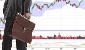Stock trade Stock Image