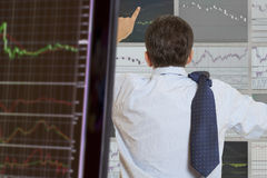 Stock Trader royalty free stock images