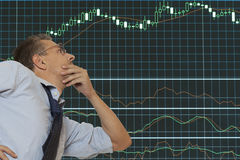 Stock trader Stock Images