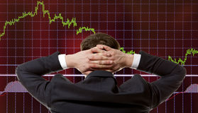 Stock trader Stock Photography