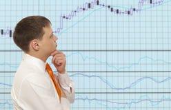 Stock trader Stock Photo