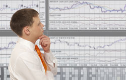Stock trader Stock Image