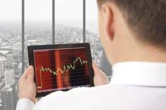Stock trading Royalty Free Stock Image