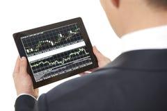 Stock trading Stock Photo