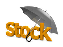 Stock umbrella Royalty Free Stock Images