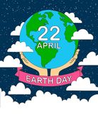 stock vector cartoon earth illustration planet smile.earth day c royalty free illustration