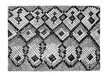 Stock vector hand drawn abstract Snake skin imitation. Stock vector hand drawn abstract animal skin imitation print pattern. Snake skin Stock Photography