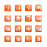 Stock Vector_Icon series - Office stock photo