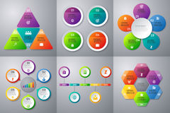 Stock Vector set of infographics vector illustration