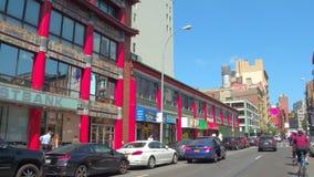 Stock video Chinatown New York