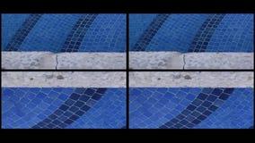 Stock video pool tile art stock video footage