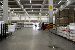 Stock Warehouse Royalty Free Stock Images