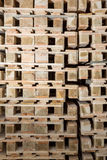 Stock wood pallets details Stock Photo