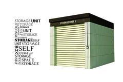 Stockage d'individu Image stock