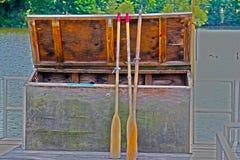 Stockage de dock photographie stock libre de droits